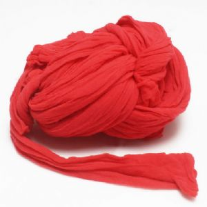 Single colour Specially dyed nylon, Nylon, red, Stretched size 1.5m x 15cm, 4 pieces, [SWW0298]